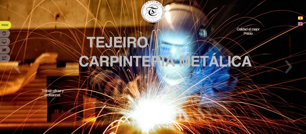web carpintería metálica